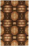 Surya Dick Idol Sante Fe STF-4006 Chocolate/Golden Brown Closeout Area Rug - Spring 2012