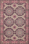 Momeni Suzani Hook SZI-1 Purple Area Rug