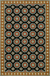 Momeni Suzani Hook SZI-3 Black Closeout Area Rug