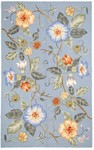 Marcella Savoy SVY473B Overscale Floral Light Blue Closeout Area Rug