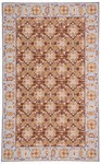 Marcella Savoy SVY526D Floral Dark Brown Closeout Area Rug