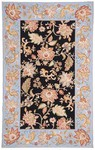 Marcella Savoy SVY529A Jacobian Black Closeout Area Rug