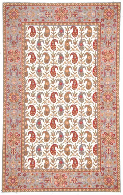 Svy534b Paisley Ivory Closeout Area Rug