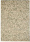 Calvin Klein Home Luster Wash SW04 LTG Scattered Flowers Closeout Area Rug
