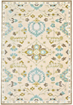 Feizy Saphir Mah 3464F Cream/Spa Blue Closeout Area Rug