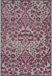 Feizy Saphir Rubus 3358F Pewter/Raspberry Closeout Area Rug