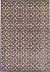 Feizy Saphir Rubus 3373F Cream/Dark Grey Closeout Area Rug