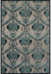 Feizy Saphir Yardley 3658F Pewter/Charcoal Closeout Area Rug