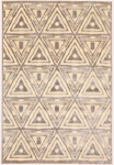 Feizy Saphir Zam 3252F Cream/Grey Closeout Area Rug