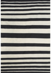 Feizy Sargasso 0633F Black/White Closeout Area Rug