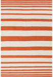 Feizy Sargasso 0633F Orange/White Closeout Area Rug