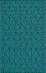 Feizy Soma 8343F Teal Closeout Area Rug