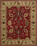 Nourison Tahoe TA08 RED Red Area Rug