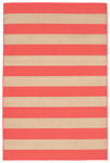 Trans-Ocean Liora Manne Terrace 1789/27 Rugby Coral Closeout Area Rug