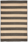 Trans-Ocean Liora Manne Tulum 1789/77 Rugby Charcoal Area Rug