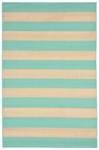 Trans-Ocean Liora Manne Terrace 1789/93 Rugby Turquoise Closeout Area Rug