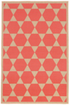 Trans-Ocean Liora Manne Terrace 1796/27 Agra Tile Coral Closeout Area Rug