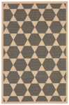 Trans-Ocean Liora Manne Terrace 1796/77 Agra Tile Charcoal Closeout Area Rug
