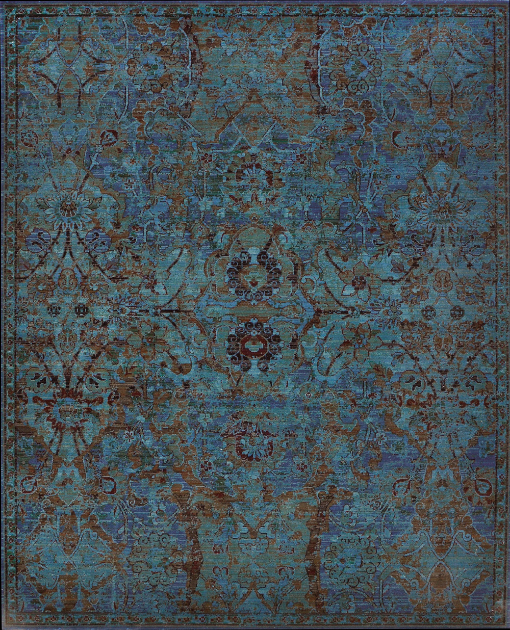 Nourison Timeless Tml02 Peaco Peacock Area Rug Rugs A Bound