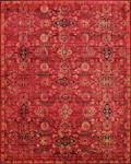 Nourison Timeless TML07 RED Red Area Rug