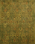 Nourison Timeless TML11 GREGD Green/Gold Closeout Area Rug
