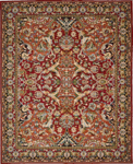 Nourison Timeless TML15 RED Red Area Rug