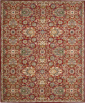 Nourison Timeless TML17 RED Red Area Rug