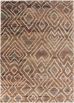 Jaipur Traditions Made Modern Select TMS04 Raffia Cloth Bone Brown & Breen Closeout Area Rug
