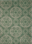 Nourison Tranquility TNQ03 LTG Light Green Area Rug