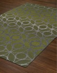 Dalyn Tempo TP117 Lime Zest Closeout Area Rug