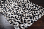 Surya Trail TRL-1104 Winter White/Jet Black/Flint Grey/Espresso Closeout Area Rug - Spring 2013