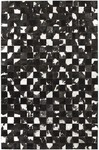 Surya Trail TRL-1112 Jet Black/Metallic Silver/Winter White Closeout Area Rug - Fall 2012