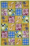 Marcella Vera Bradley Indoor/Outdoor VBO009A Patchwork Panel Outdoor Closeout Rug