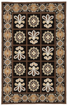 Marcella Vera Bradley Indoor/Outdoor VBO015A Cafe Latte Outdoor Closeout Area Rug