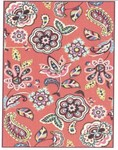 Marcella Vera Bradley Indoor/Outdoor VBO017A Call Me Coral Closeout Area Rug
