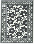 Marcella Vera Bradley Indoor/Outdoor VBO018A Night & Day Closeout Area Rug