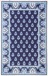 Marcella Vera Bradley Signature VBY027A Nantucket Navy Closeout Area Rug