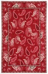 Marcella Vera Bradley Signature VBY034A Mesa Red Closeout Area Rug