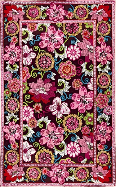 Marcella Vera Bradley Signature Vby041b Mod Floral Pink