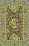 Marcella Vera Bradley Signature VBY074A Sittin In A Tree Green/Brown Closeout Area Rug