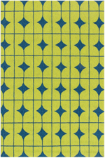Loloi Venice Beach VB-03 Lime / Blue Closeout Area Rug