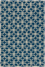 Loloi Venice Beach VB-11 Blue / Ivory Area Rug