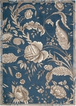 Nourison Waverly Artisanal Delight WAD07 IND Indigo Closeout Area Rug