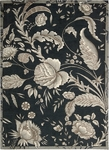 Nourison Waverly Artisanal Delight WAD07 NOIR Noir Closeout Area Rug