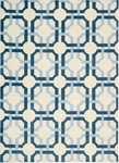 Nourison Waverly Artisanal Delight WAD09 SKY Sky Closeout Area Rug