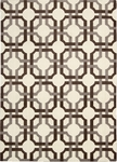 Nourison Waverly Artisanal Delight WAD09 TOBAC Tobacco Closeout Area Rug