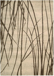 Calvin Klein Home Woven Textures WT06 NAT Willow Branches Closeout Area Rug