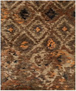 Loloi Xavier XV-08 Rustic Brown Closeout Area Rug