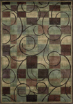 Nourison Expressions XP01 BRN Brown Area Rug