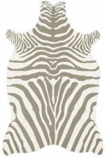 Loloi Zadie ZD-01 Grey / White Area Rug